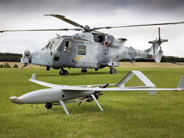 Leonardo demonstrates helicopter-UAV teaming in the UK with its AW159 Wildcat