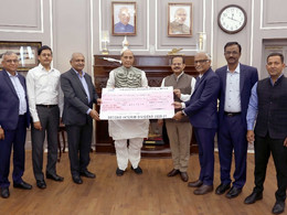 HAL Pays Second Interim Dividend to Government of India