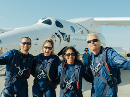 Virgin Galactic Successfully Completes First Fully Crewed Spaceflight