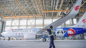 """Ameco completes painting and guaranteeing the first flight of """"Winter Olympic"""" aircraft"""