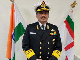 Vice ADM Sandeep Naithani AVSM VSM assumes charge as the Controller Warship Production & Acquisition