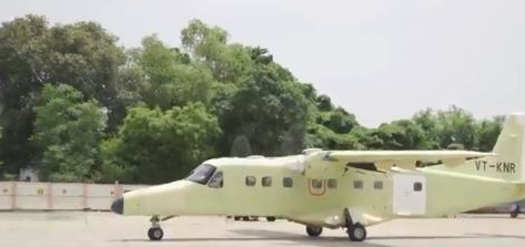 HAL's 'Made in India' Civil Aircraft Achieves Major Milestone, Carries out Ground Run and LSTT