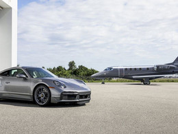 """Embraer and Porsche announce design collaboration to deliver limited edition """"Duet"""""""