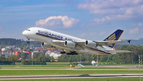 Singapore Airlines turns the world's largest passenger aircraft A380 into restaurant