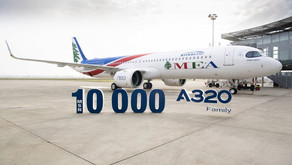 Airbus delivers A320 family MSN10,000 to Middle East Airlines