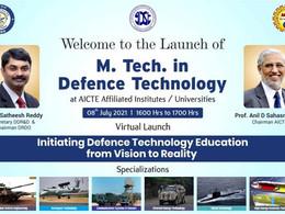 DRDO & AICTE launch regular M. Tech. Program in Defence Technology