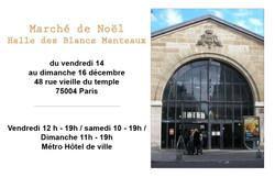 EXPOSITION HALLE DES BLANCS MANTEAUX