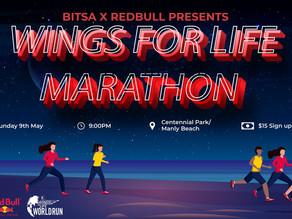 BITSA x Redbull Presents: Wings for Life World Run