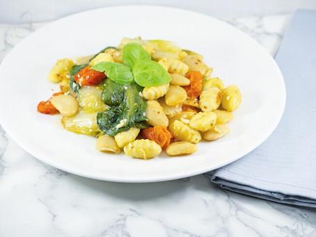 Gnocchi with Escarole & Beans