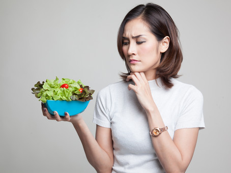 """Are you eating """"healthy-boring""""?"""