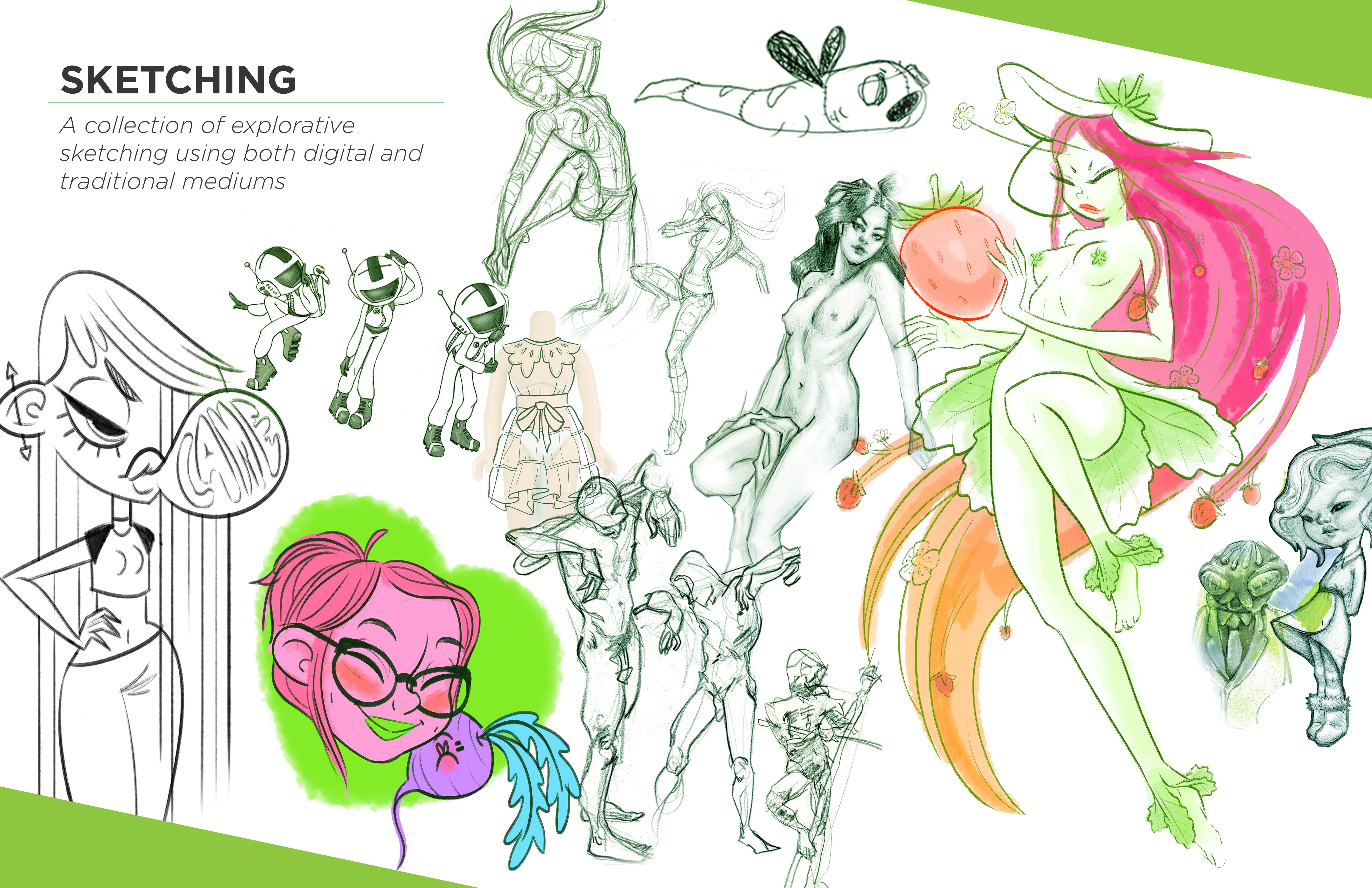 Sketching RGB