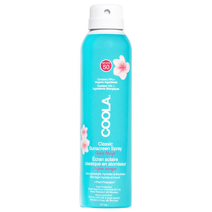 COOLA Suncare Classic Body Spray SPF 50 Guava Mango