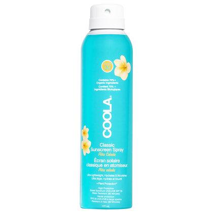 COOLA Suncare Classic Body Spray SPF 30 Pina Colada