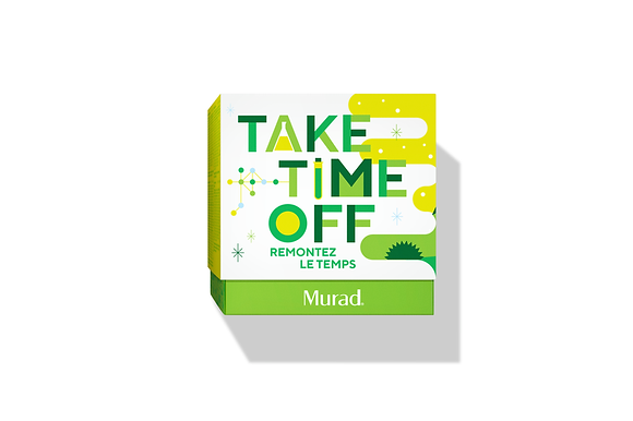 Murad Take Time Off Set