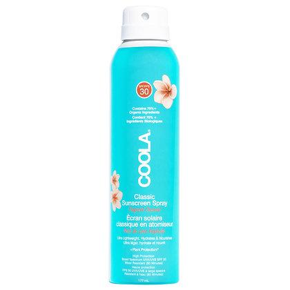 COOLA Suncare Classic Body Spray SPF 30 Tropical Coconut