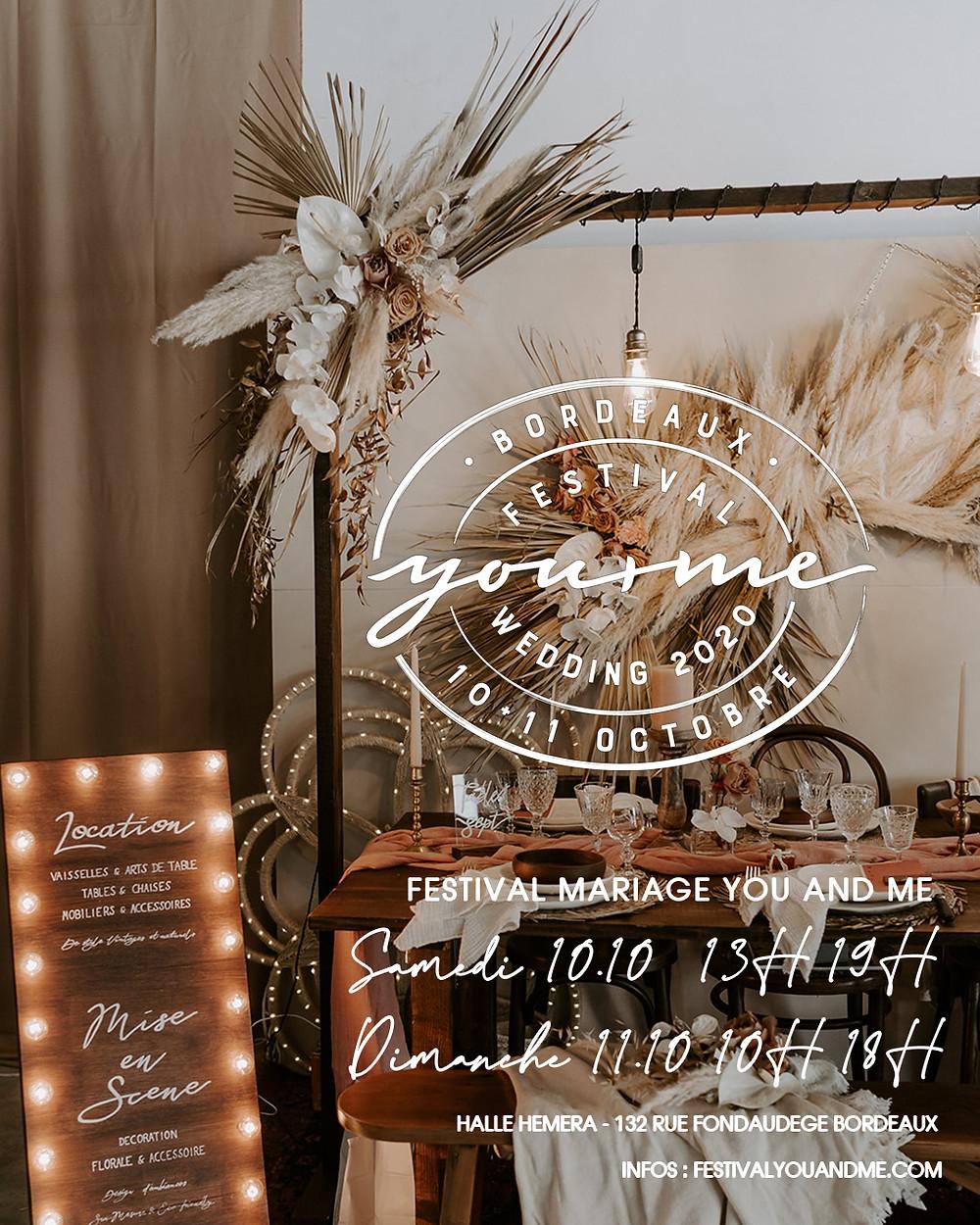 Festival mariage Bordeaux 10+11 octobre 2020