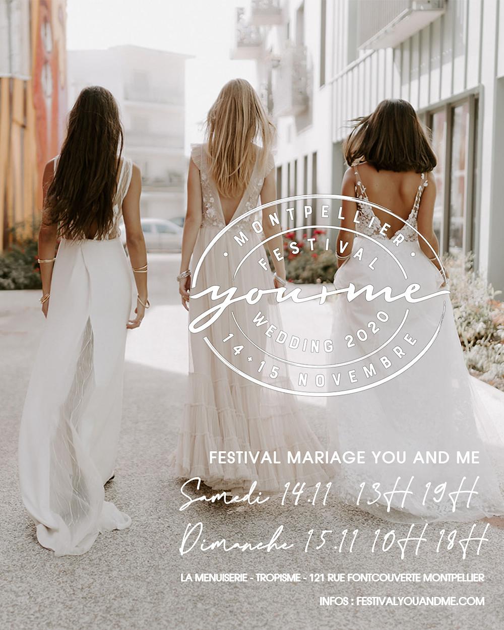 Festival mariage Montpellier 14+15 novembre 2020