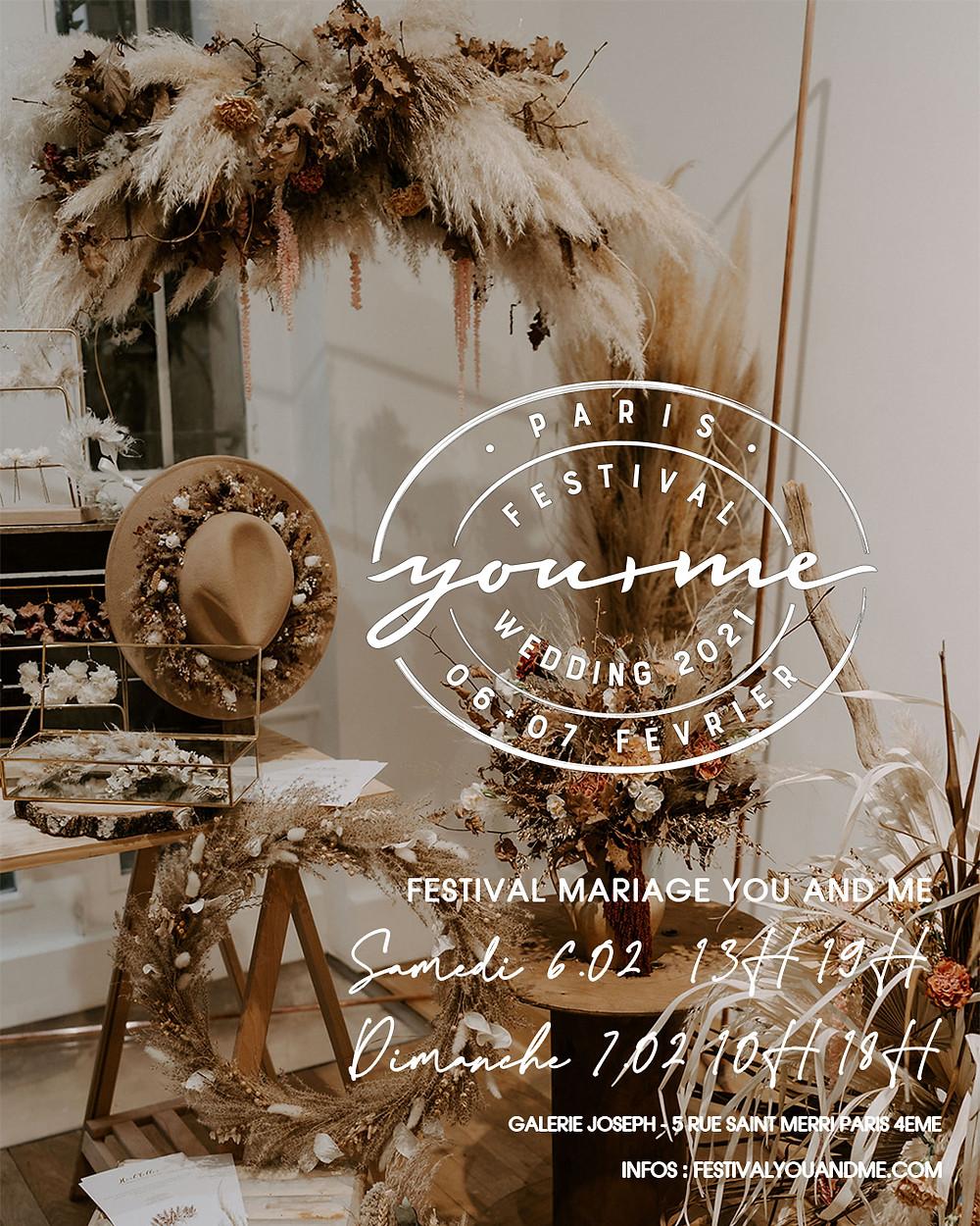 Festival mariage Paris 6+7 fevrier 2021