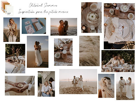 Festival mariage You and Me - Moodboard Summer Love - Editorial 2020