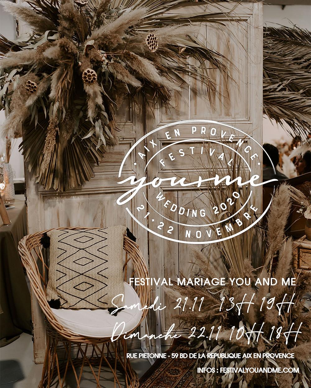 Festival mariage Aix en provence 21+22 novembre 2020