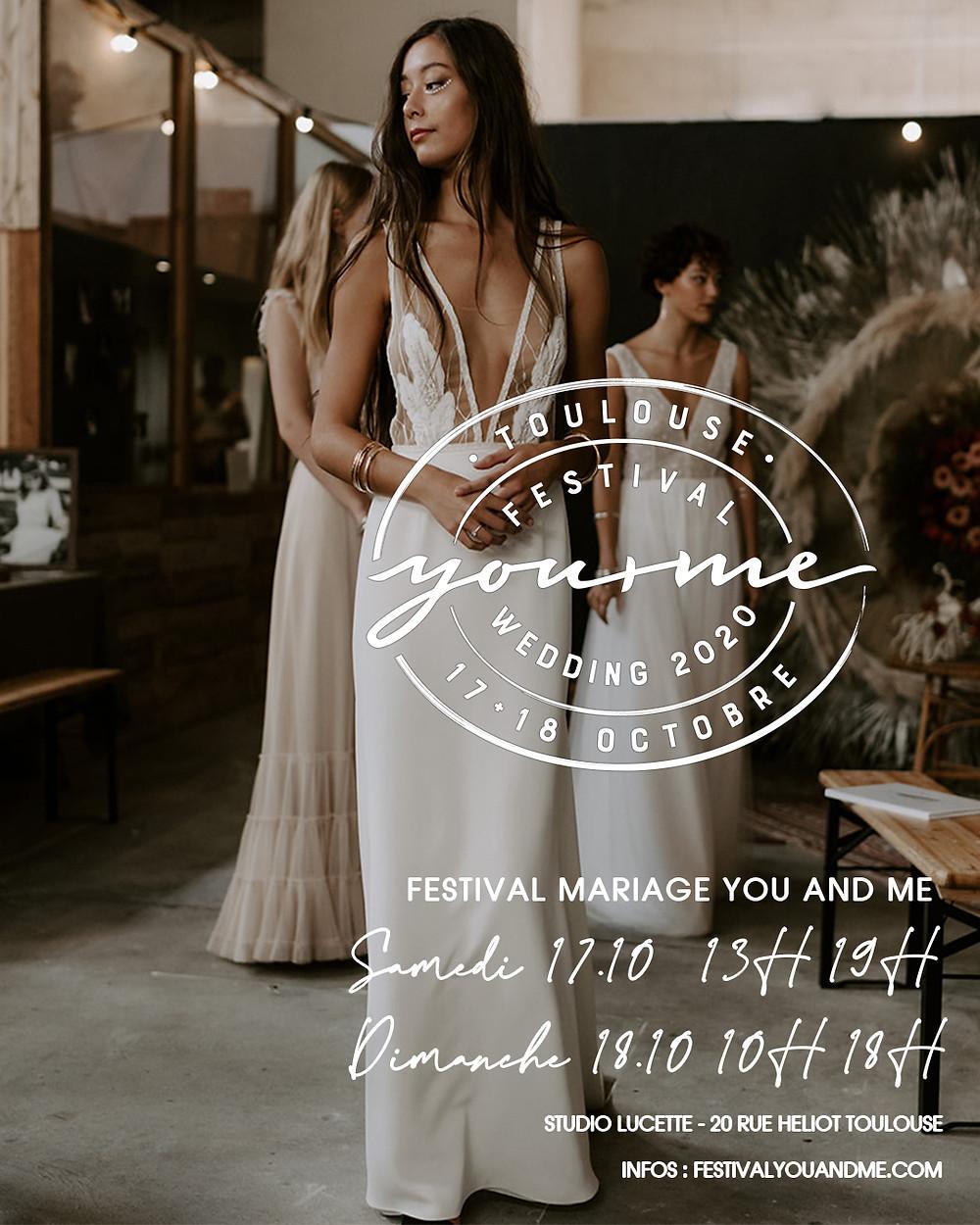 Festival mariage Toulouse 17+18 octobre 2020