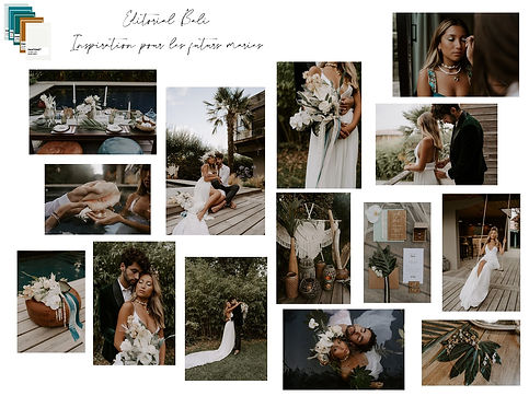 Festival mariage You and Me - Moodboard Bali - Editorial 2020