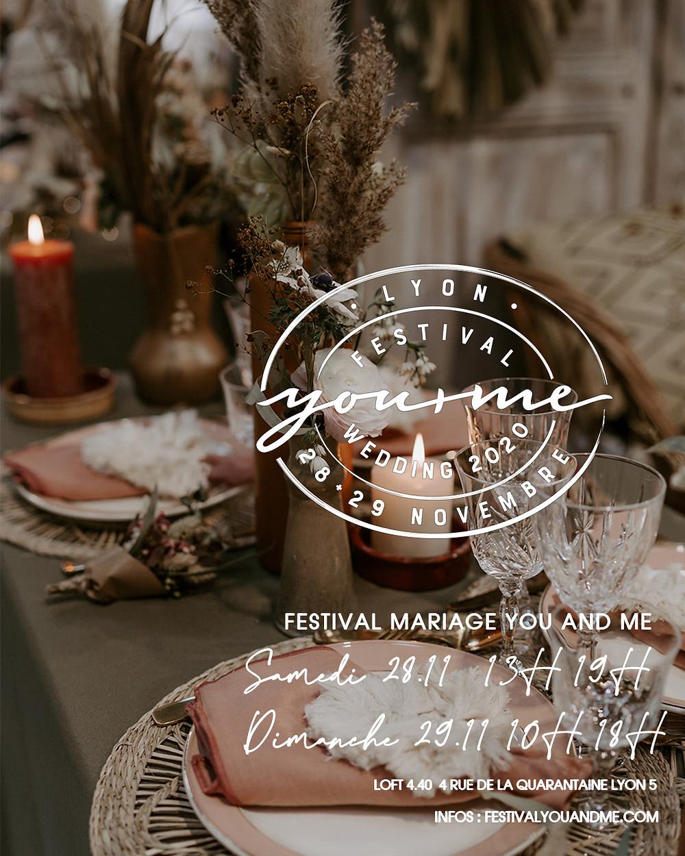 Festival mariage Lyon 28+29 novembre 2020