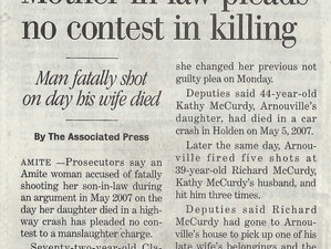 Mother-in-law pleads no contest in killing