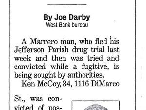 Cops seek defendant who fled drug trial