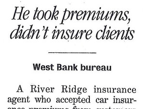 River Ridge insurance agent says he's guilty