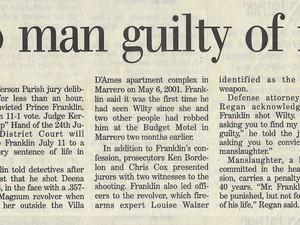Marrero man guilty of murder