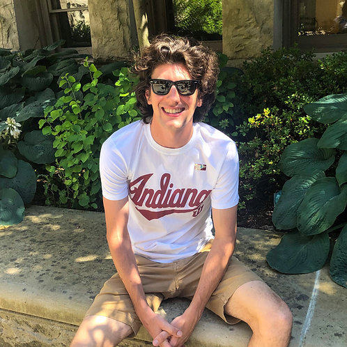 Indiana Script Tail T-Shirt
