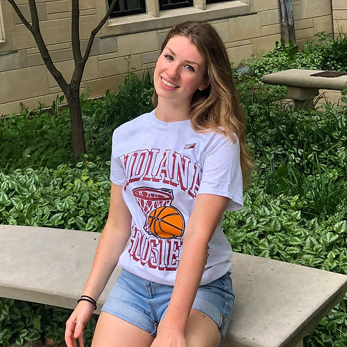 Retro Indiana Basketball T-Shirt