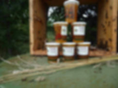 Pots de miel Abeillement Vôtre