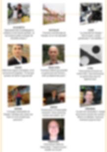Présentation des différents membres de l'équipe de l'association Abeillement Vôtre