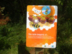 Tableau d'information sur les ruches