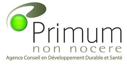 Logo de l'agence Conseil en développement durable et santé Primum non nocere