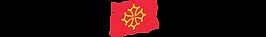 Logo de la mairi de Toulouse, drapeau de la occitane (dorée) sur fond rouge