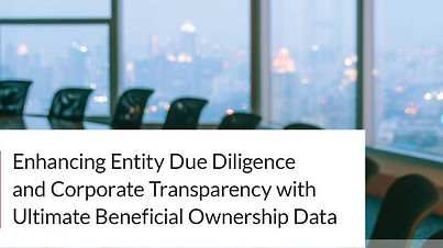 Ultimate Beneficial Ownership Data
