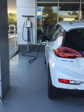 Electric Car Charing Station Installatio
