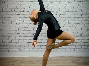 young jazz dancer