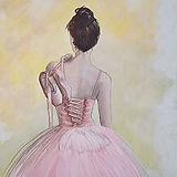 Acrylic on canvas; artist Andrea Gaw-Pre