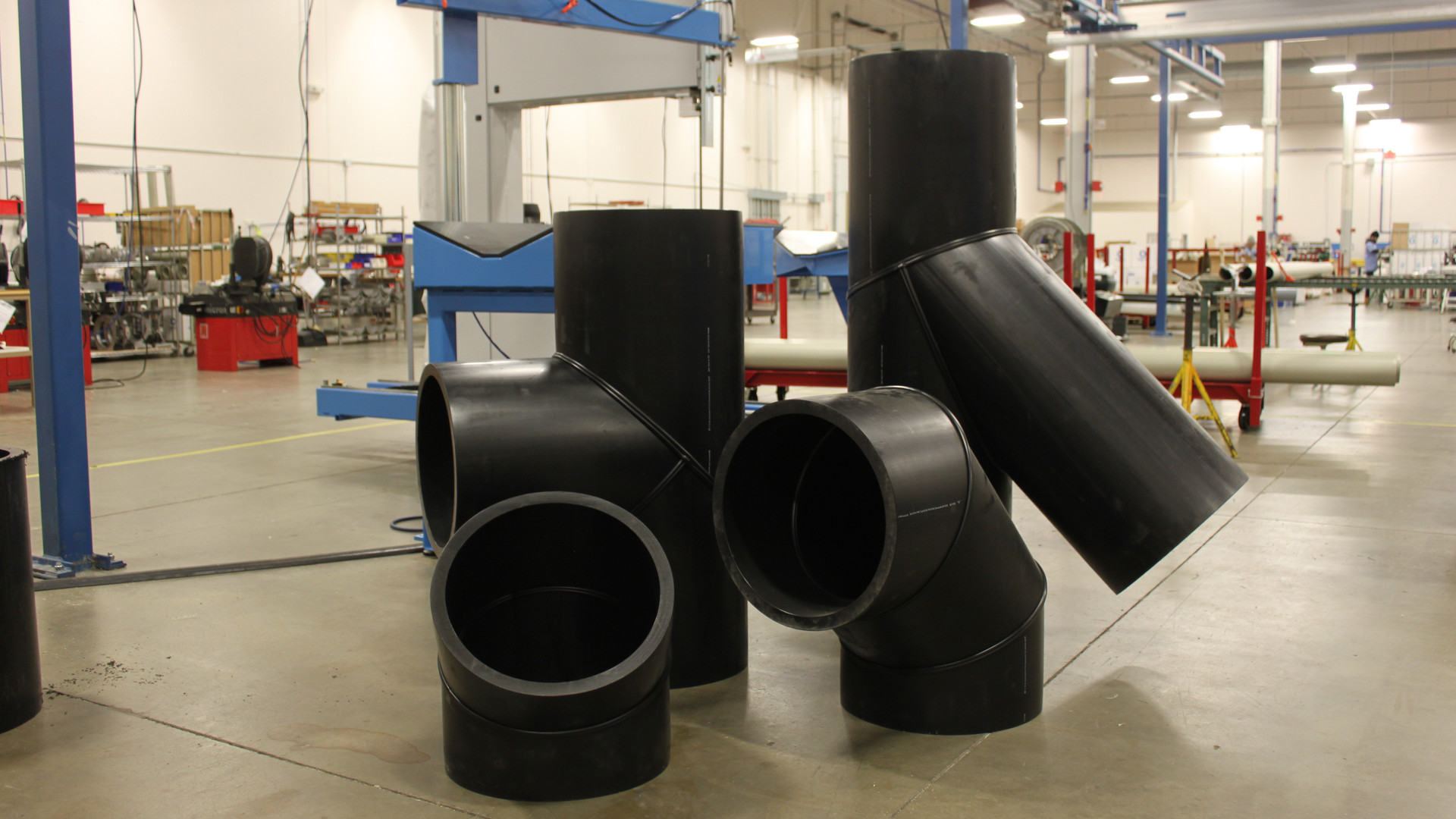 Large HDPE Fittings
