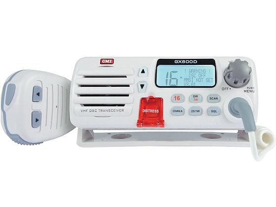 GX600D VHF Marine Radio with DSC - White