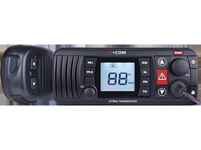 GX400W 27MHz Marine/CB Radio - Black