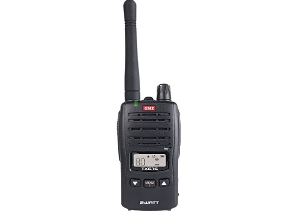 TX675 2 watt UHF handheld radio, single unit