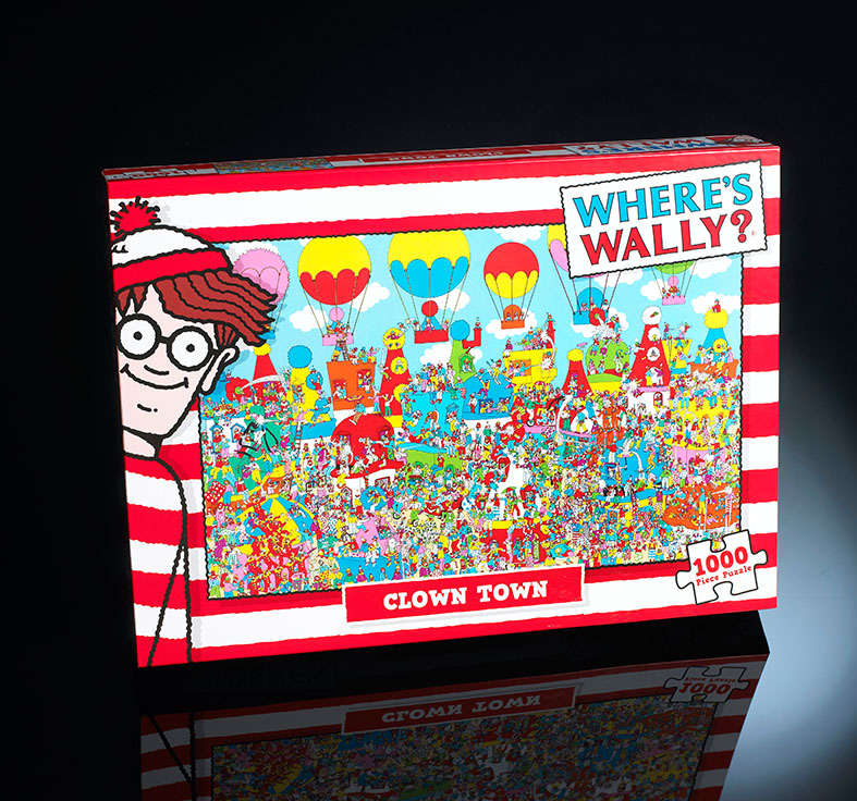 Where's Wally 1000 piece puzzles