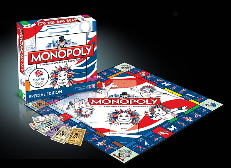 Monopoly Team GB Edition