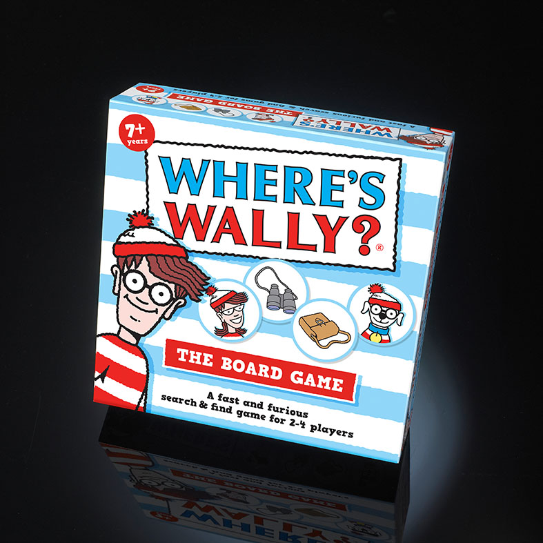 Wheres Wally Board Game