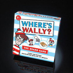 Wheres Wally Board Game